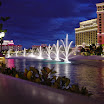 One of the shots of Bellagio Fountains water show