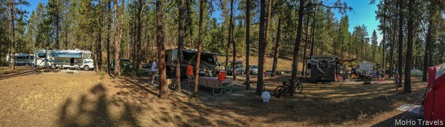 family camp at Riverside State Park