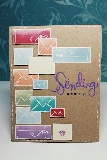 Simon Says Stamps Sending good thoughts.