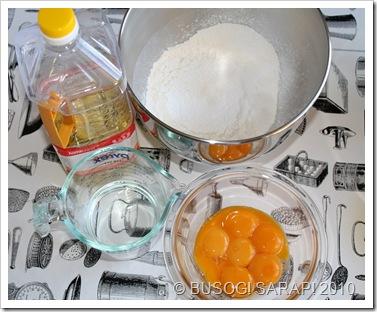Mocha Chiffon Cake Ingredients And Procedure