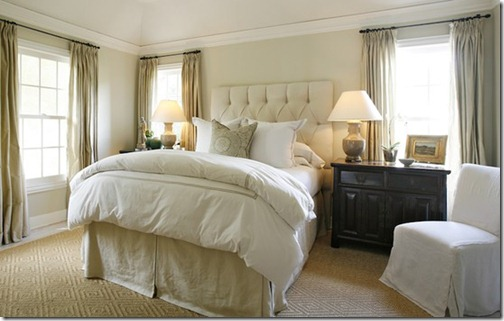 ashley goforth white bedroom with ivroy accents