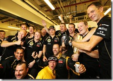 Il marchio Lotus torna a vincere dopo 25 anni