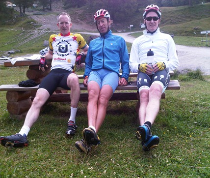 Ranchers on top of Col du Lein Aug 2011 (2)