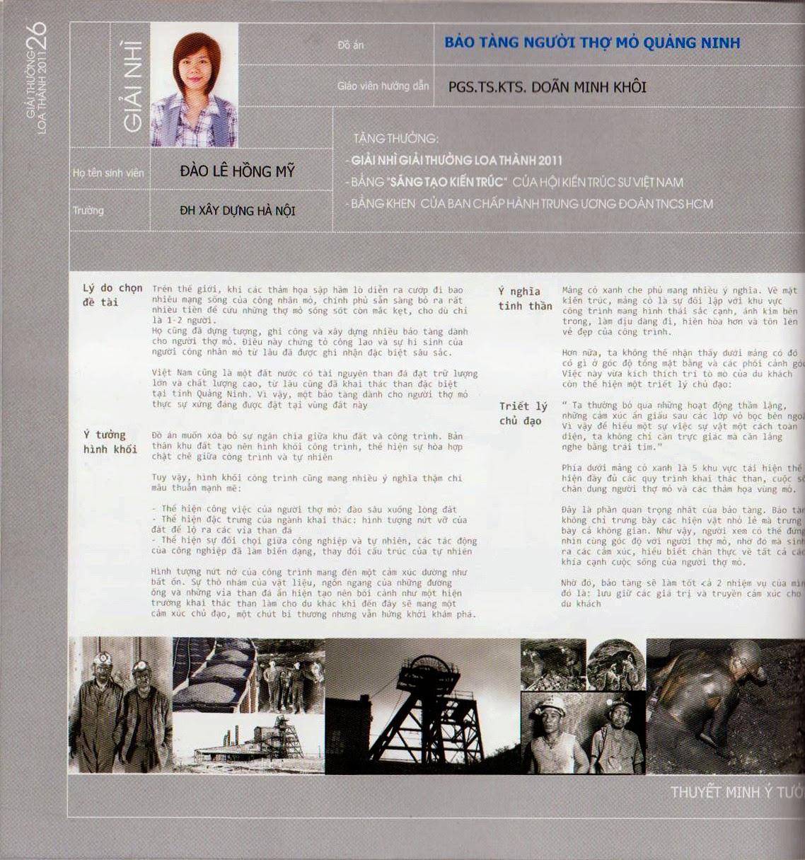 Đồ án Loa thành 2011