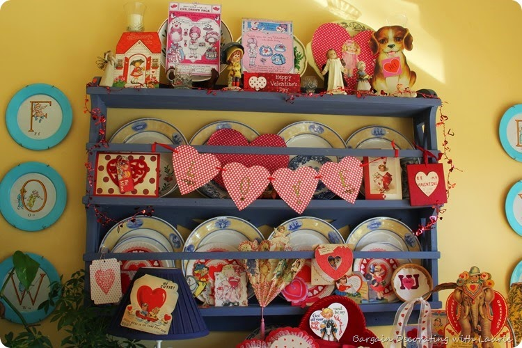 Vintage Valentine Display 1