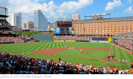 'Oriole Park at Camden Yards' photo (c) 2013, Keith Allison - license: http://creativecommons.org/licenses/by-sa/2.0/