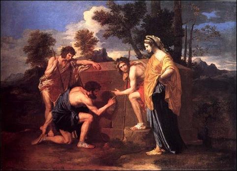 Poussin, Les bergers d'Arcadie
