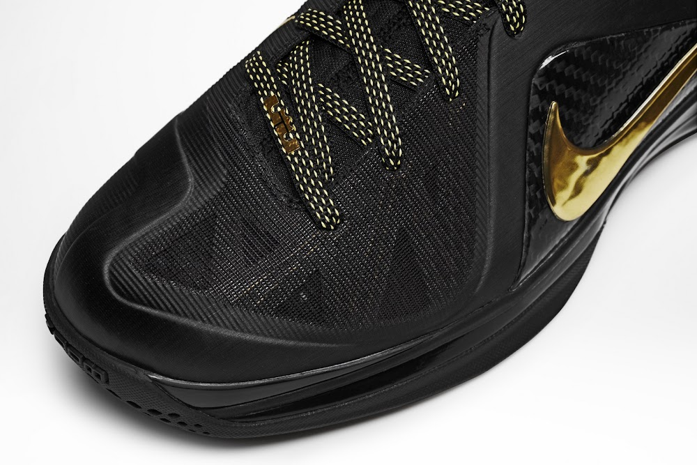 newest 0a7a5 e09e6 516958-002 Black Metallic Gold-Black. Introducing Nike LeBron 9 PS Elite  Series 8211 Away Version ...