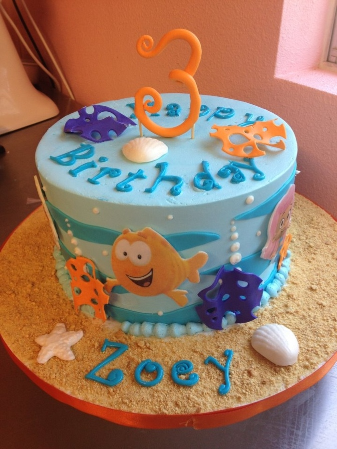 Sweet Mischief Ja Cake Ideas: Bubble Guppies inspired cakes