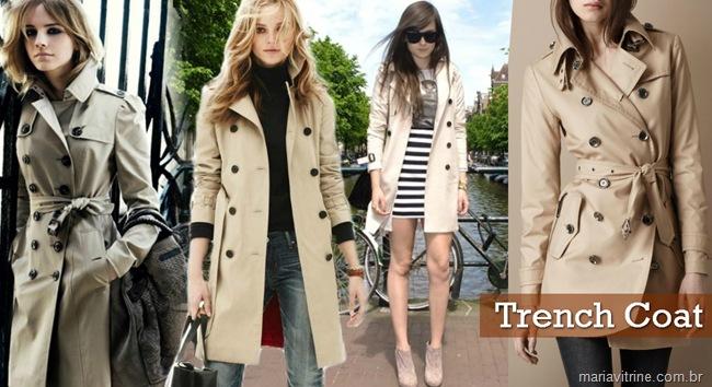 trench coat moda feminino casacos para inverno