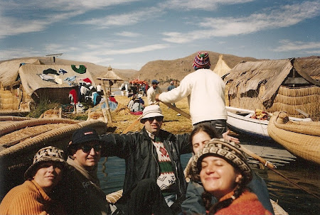 Things to do in Titicaca: take a boat on the lake