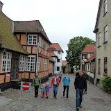 Gåtur i Fåborg - en by med mange hyggelige gamle huse