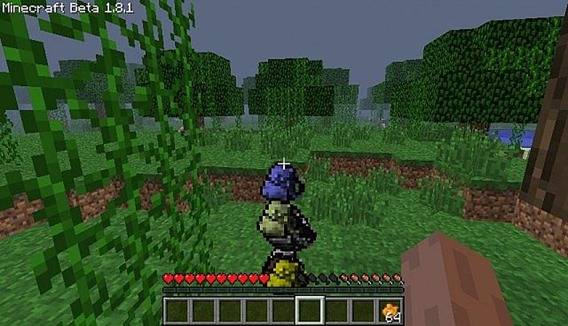 Minecraft 1.3.2 - backpack mod