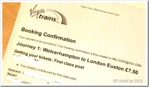 Ticket to London