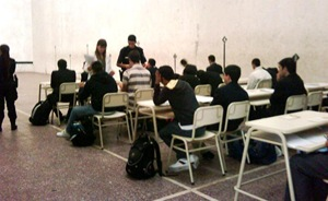 Se iniciaron los exámenes de ingreso para la Escuela de Policía de La Costa