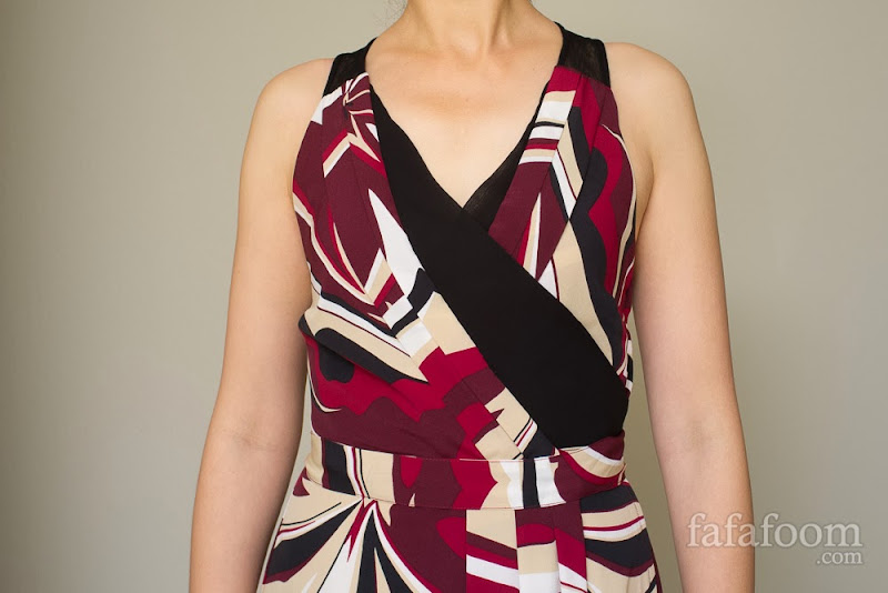 A Neckline Fix to Keep the Girls In