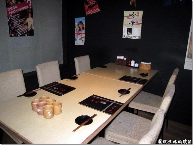十九酒食日式居酒屋的用餐環境。