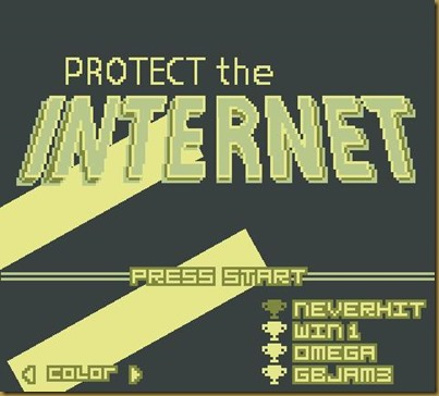 Protect the Internet!タイトル