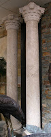 Light Oriental Tapered Corinthian Column