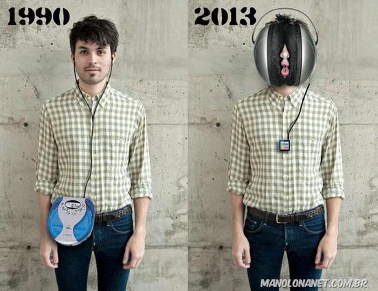 Diferenças entre 1990 e 2013