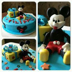 torta disney: topolino
