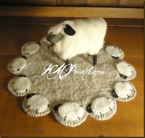 Sheep Lamp Mat name