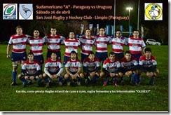 2014 Paraguay v Uruguay