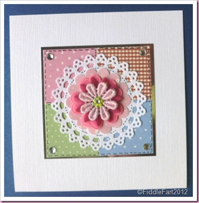 Martha Stewart Doily tag