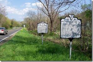 Brig. Gen. Turner Ashby, CSA marker FF-10 along U.S. Route 55