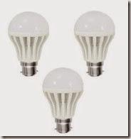 Shopclues : Buy LED Bulb 5 Watt Set of 3 pcs at Rs. 129 only