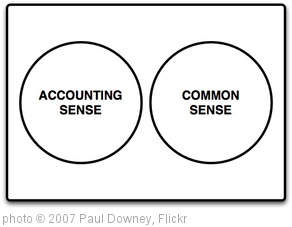 'Accounting Sense != Common Sense' photo (c) 2007, Paul Downey - license: http://creativecommons.org/licenses/by/2.0/