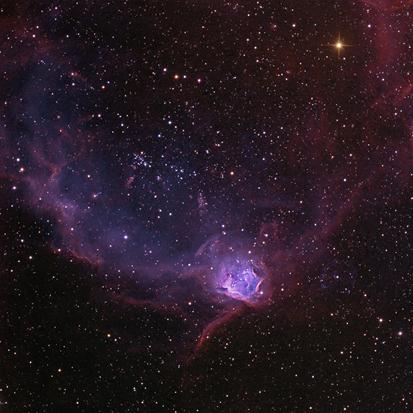 aglomerado de estrelas NGC 602