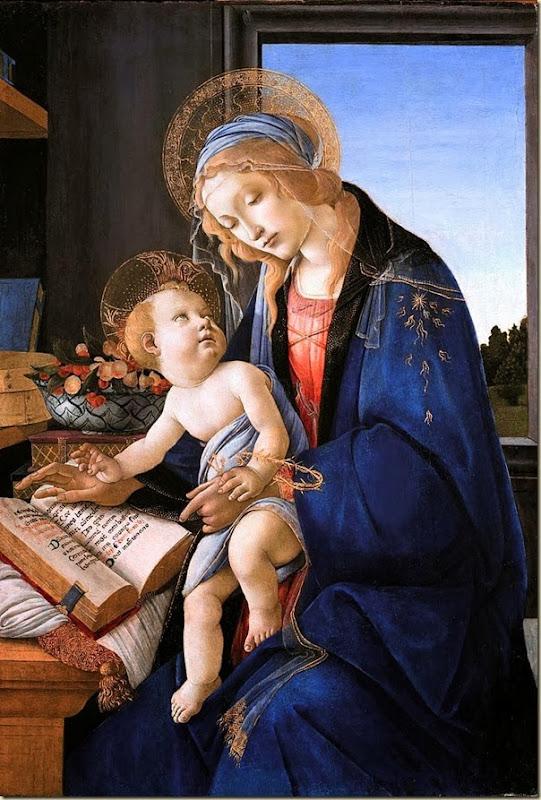 Botticelli, Vierge à l'enfant