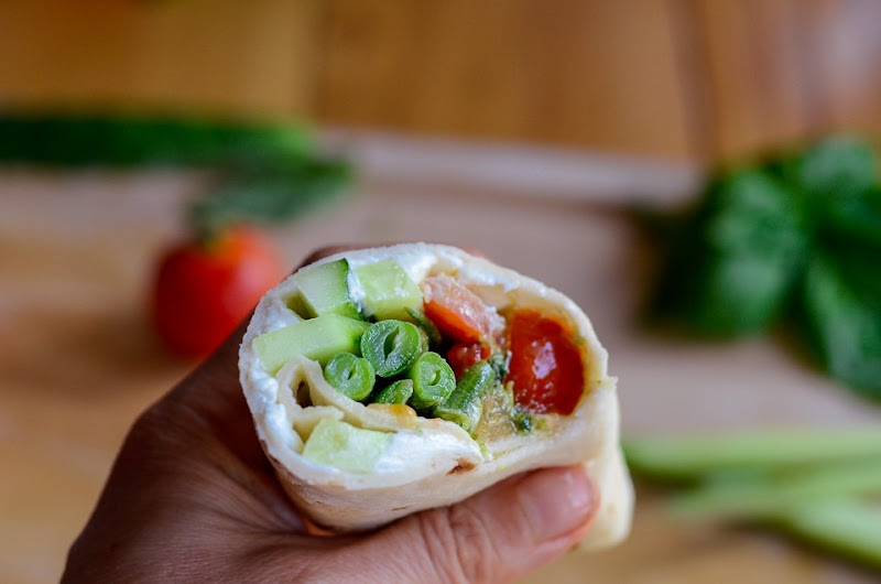 gf green bean cucumber wrap-12360