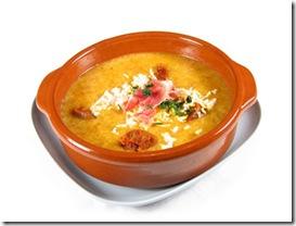 como preparar sopa de ajo facil y rico