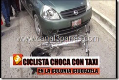 02 IMÁGENES CICLISTA CHOCA CON TAXI EN LA COLONIA CIUDADELA.mp4_000003803