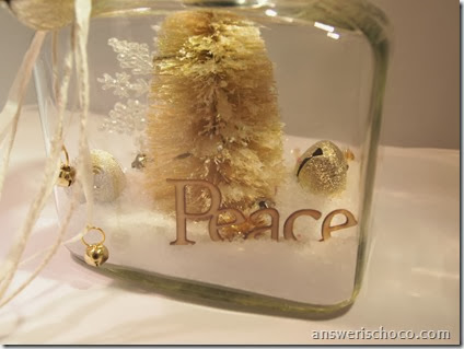 Christmast Repurposed Jar 4