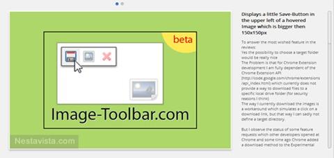 Image-Toolbar para Chorme