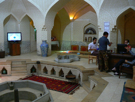 Places to drink in Yazd: Hamam