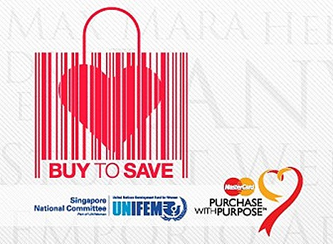 UNIFEM 2011 Buy to Save fund raising event Suntec City