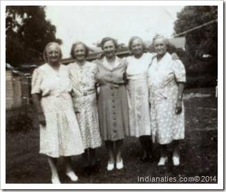 Niehaus sisters 1940s