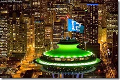 Lisa Harper --- Space Needle with 12 flag at the NFC Championship game (18 Jan 2015)
