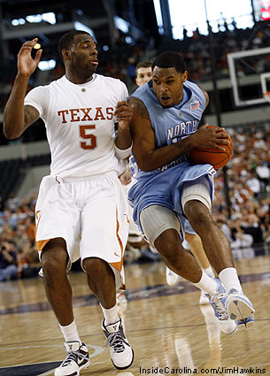 Will Graves Jordan 2009 UNC PE Texas