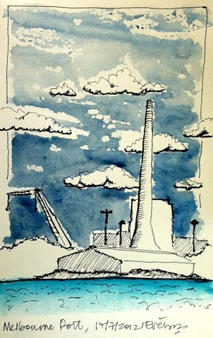 Port Melbourne Sketch