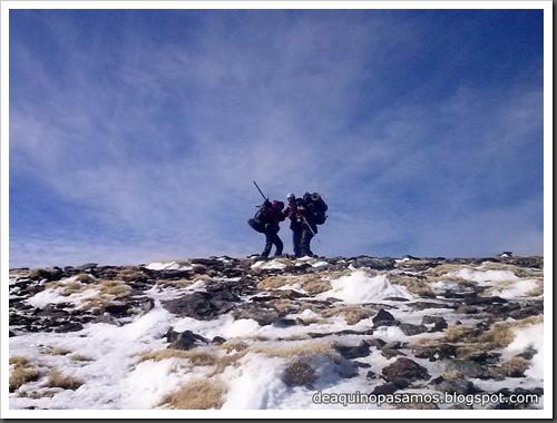 Picon de Jerez 3090m, Puntal de Juntillas y Cerro Pelao 3181m (Sierra Nevada) (Javi) 0209
