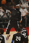 lebron james nba 130217 all star houston 17 game 2013 NBA All Star: LeBron Sets 3 pointer Mark, but West Wins
