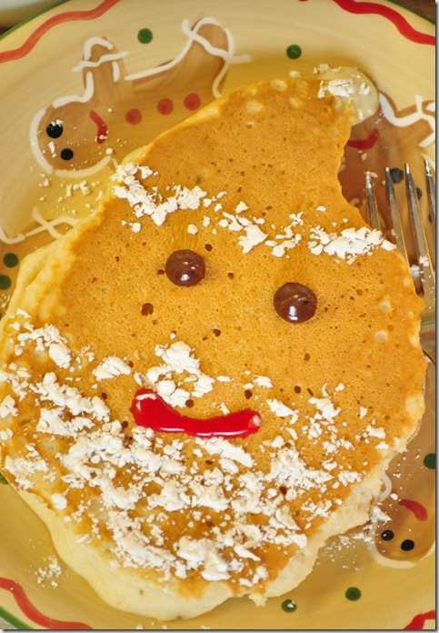 Santa pancake 2
