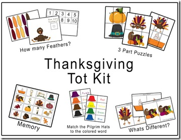 Thanksgiving Tot Kit Preview
