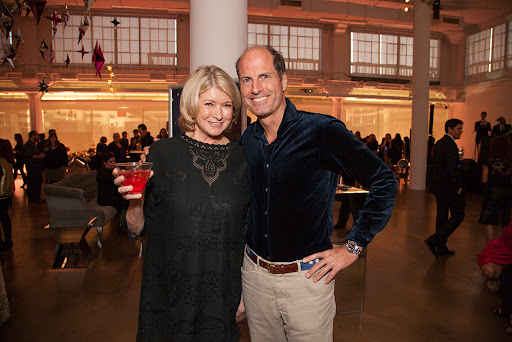 Martha and Peter Callahan owner of Callahan Catering & contributing editor to Martha Stewart Weddings who catered our party