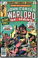 P00006 - John Carter Warlord of Ma